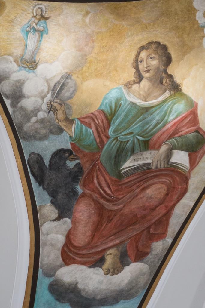 affresco Parrocchia Beata Maria Vergine di Loreto Trinitapoli