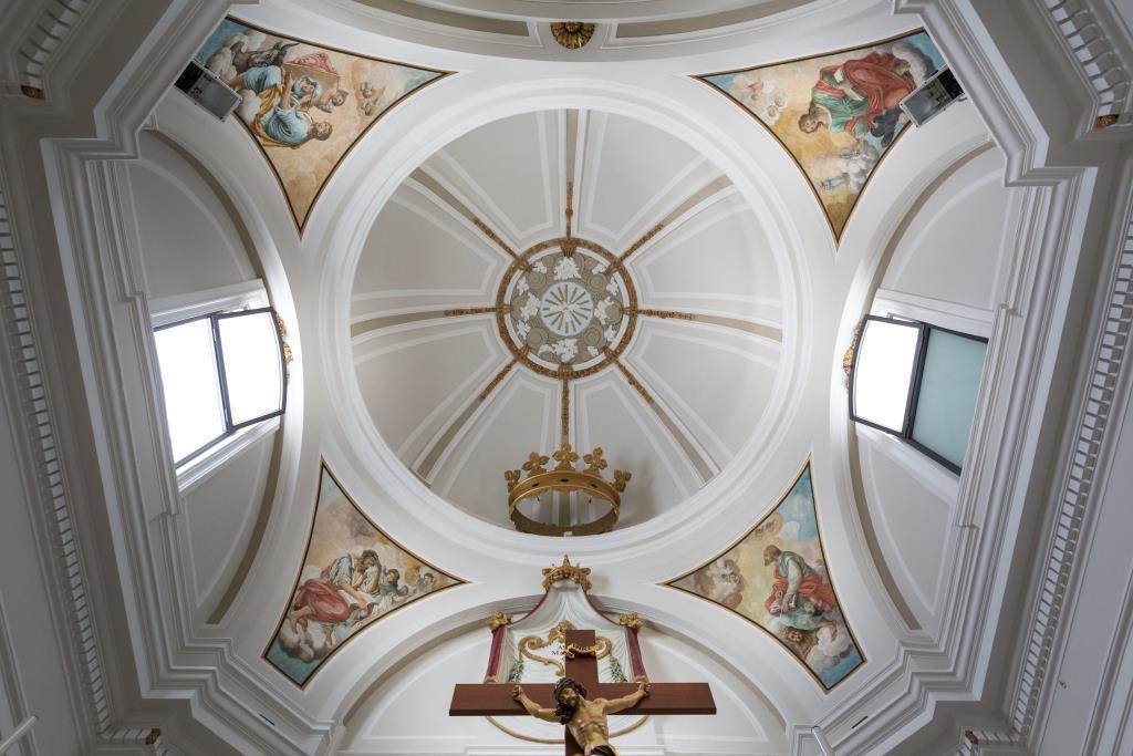 cupola_Parrocchia_Beata_Maria_Vergine_di_Loreto_Trinitapoli